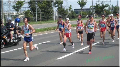 北海道マラソン~女子のトップの方デス。.jpg