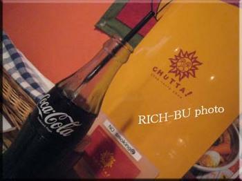 久々に見たコーラの瓶がかわいくて♪.jpg